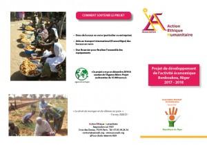 Plaquette Action Niger